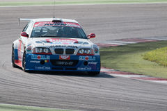 BMW M3 E46 RACE CAR. MISANO ADRIATICO, Rimini, ITALY - May 10:  A BMW M3 E46driven by FERRARESI Matteo (ITA)W&D Racing Teamduring the C.I.Turismo Enduranceon May Royalty Free Stock Photography