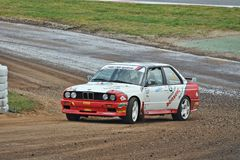 BMW M3 E30. RX Fia World Rallycross Barcelona 2017 Royalty Free Stock Image