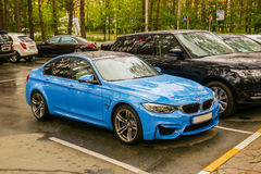 BMW M3 & x28; F80& x29; royalty-vrije stock foto's