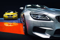 BMW M6 Gran Coupe & BMW M4 Stock Photos