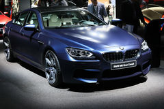 BMW M6 Gran Coupe Stock Photo