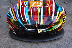 BMW M3 GT2 Art Car de Jeff Koons Foto de archivo