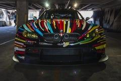 BMW M3 GT2 da Jeff Koons, 2010 immagini stock libere da diritti