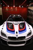 BMW M6 GT3 on Display at the 2017 North American International Auto Show Royalty Free Stock Image