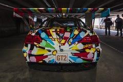 BMW M3 GT2 durch Jeff Koons, 2010 Lizenzfreie Stockfotografie
