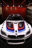 BMW M6 GT3 en la exhibición en el salón del automóvil internacional norteamericano 2017 Imagen de archivo libre de regalías