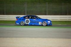 BMW M3 GT4 F.M. RACERBIL Fotografering för Bildbyråer