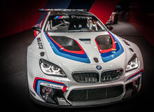BMW M6 GT3 Royalty Free Stock Photography
