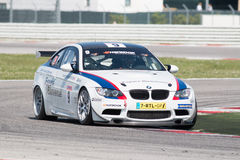 BMW M3 GT4 AM RACE CAR Stock Photos