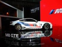 BMW M8 GTE sports car. 2018 Taipei auto show Royalty Free Stock Image