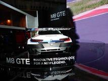 BMW M8 GTE sports car. 2018 Taipei auto show Royalty Free Stock Photography