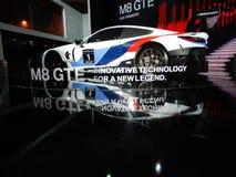 BMW M8 GTE sports car. 2018 Taipei auto show Stock Images