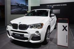 2016 BMW X4 M40i Stock Foto