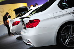 BMW M 535i Performance Edition sports car on display at BMW World 2014 Stock Photos