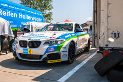 BMW M235i racing car Royalty Free Stock Photography