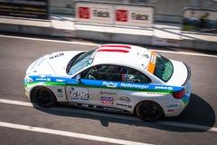 BMW M235i tävlings- bil Arkivbilder
