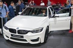BMW M3 limousine Arkivbilder