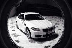 BMW M5 modeller royaltyfria foton