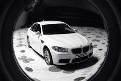 BMW M5 models Royalty Free Stock Photos