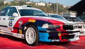 BMW M3 old racing car rally Stock Photo