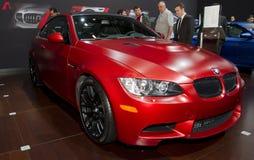 BMW M3 på den auto showen för NY Arkivbild
