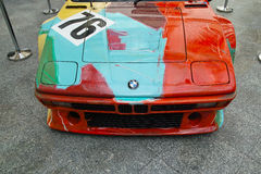 BMW M1 por Andy Warhol Fotografia de Stock Royalty Free
