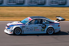 BMW M3 race car Stock Photography