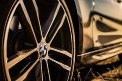 BMW M Rim royaltyfri fotografi