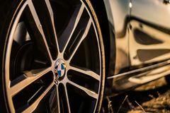 BMW M Rim fotografia de stock royalty free