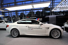 BMW M3 safety car on display at BMW World Royalty Free Stock Photos