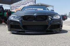BMW M serie na pokazie podczas NAZYWAJĄ przedstawienie wycieczkę turysyczną Obraz Stock