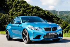 BMW M2 2016 testa Prowadnikowy dzień Zdjęcia Royalty Free