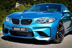 BMW M2 2016 testa Prowadnikowy dzień Fotografia Royalty Free