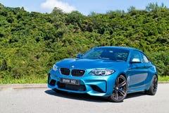 BMW M2 2016 testa Prowadnikowy dzień Zdjęcia Stock