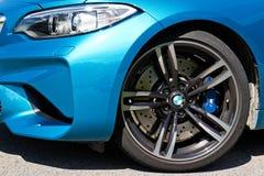 BMW M2 2016 testa Prowadnikowy dzień Obraz Stock