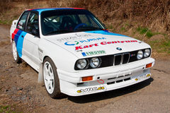 BMW M3 in action. Editorial image of BMW M3 E30 Stock Photos