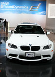 The BMW M3 Coupe. CHICAGO - FEBRUARY 18 Royalty Free Stock Photography
