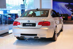BMW M3 Coupe on display Royalty Free Stock Photography
