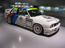 BMW M3 E30 Gr.A. The BMW M3 E30 Gr.A (DTM, WTCC, Superturismo and BTCC winner in the late 80s) exposed in the motorsport gallery in the BMW museum in Munchen Royalty Free Stock Photography