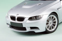 BMW M3 front side. royalty free stock photos