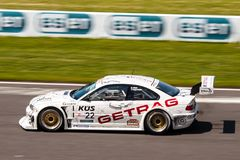 BMW M3 race car Royalty Free Stock Photos