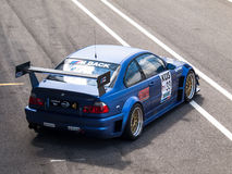 BMW m3 race car Royalty Free Stock Image