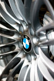BMW M3 wheel logo Stock Photography