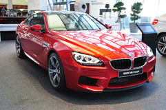 BMW M6 Coupe. MUNICH, DECEMBER 11: BMW M6 Coupe at BMW Car Show on December 11, 2012 in Munich, Germany Stock Images