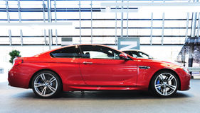 BMW M6 Coupe. MUNICH, DECEMBER 11: BMW M6 Coupe at BMW Car Show on December 11, 2012 in Munich, Germany Stock Image