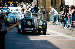 BMW 328 at Mille Miglia 2016 Stock Images