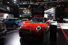 BMW mini  cooper auto show Royalty Free Stock Photography