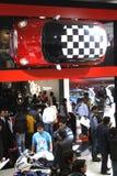BMW MINI su visualizzazione all'Expo automatica 2012 Fotografia Stock