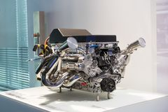 BMW motor fotografering för bildbyråer