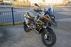 BMW motor bike Stock Photo